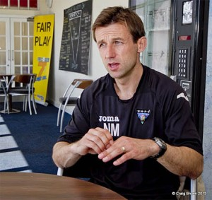 Former Scotland star Neil McCann is now working behind the scenes at Dunfermline  (Image from Craig Brown)