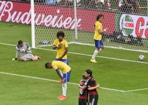 Brazil were humiliated by Germany in the Semi Final or The World Cup  (Image from Getty)
