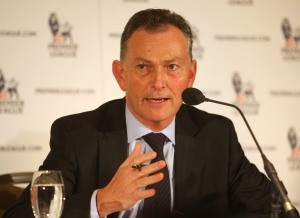 Richard Scudamore revealed the intent to share £1billion  with the lower leagues yesterday  (Photo by Tom Shaw/Getty Images)