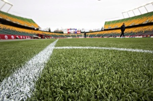 Controversy around the choice to use artificial pitches at the Women's World Cup continues  (Image from THE CANADIAN PRESS/Jason Franson)