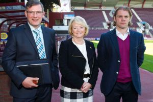 Levein, Budge and Neilson have turned Hearts fortunes around  (Image from DailyRecord)