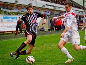 Ryan Williamson has impressed this season (Image from DAFC.com)