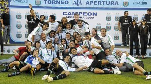 Banfield - Apertura Champions 2009  (Image from Getty)