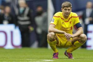 Heartbreak for Gerrard (Image from Getty)