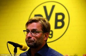 Klopp announces his decision to quit Dortmund at the end of the season  (Image from Bongarts/Getty)