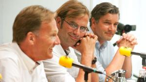 Watzke, Klopp and Zorc in better times  (image from PA)