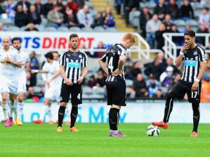 Newcastle slumped to yet another defeat (Image from Getty)