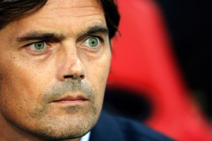 Always looking forward - PSV manager Phillip Cocu  (Image from Getty)