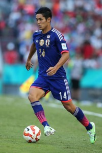 Yoshinori Muto is wanted by Chelsea but for what purpose? (Image from Getty)