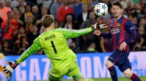 From Another Dimension - Messi (Image from AP)
