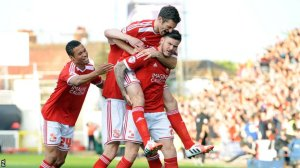 Swindon progress to Wembley after epic game (Image from Getty)
