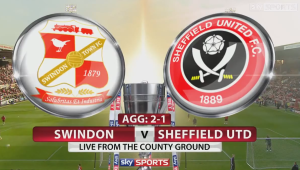 The game was on a knife edge heading into the second leg  (Image from Sky Sports