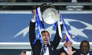 Di Matteo lead Chelsea to Champions League success  (Image from AFP)