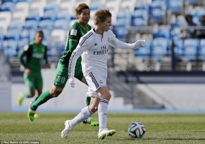 A move to Real Madrid could see Sterling playing alongside Martin Odegaard for Real's reserve team, Castilla rather than their first team  (Image from Getty)