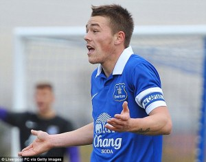 George Green has been released by Everton  (Image from PA)