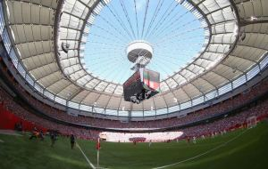 Canada faced England in front of a full house in Vancouver (Image from Getty)