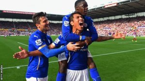 Leicester's recovery was nothing less than spectacular  (Image from Getty)