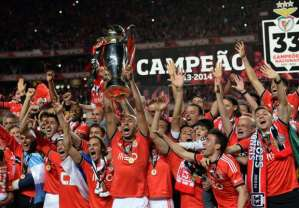 Under Jorge Jesus, Benfica have won three titles  (Image from Getty)