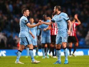 With Milner and Lampard leaving, City need five new home grown players  (Image from PA)