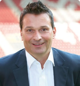 Mainz Sporting Director Christian Heidel is ready to sell Jara  (Image from Mainz 05 website)