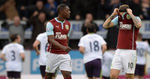 Burnley were relegated after failing to score enough goals  (Image from PA)