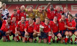 England's 1993 winning team  (Image from AFP)