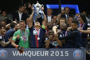 PSG sealed  hattrick of French titles this season with victory in the French Cup final  (Image from TVA)