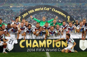 England must follow Germany's example by developing teams that progress together through the ranks  (Image from Getty)