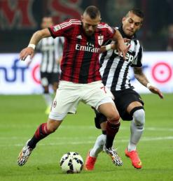 AC Milan are no longer competitive with Juventus (Image from Getty)