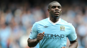Micah Richards is looking for a new club after leaving City (Image from Getty)