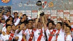 River Plate lift the Copa trophy  (Image from Getty)