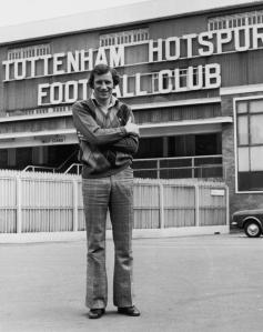 Terry Neill's switch to White Hart Lane was controversial at the time (Image from PA)