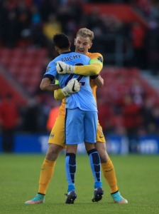 Hart and Clichy - Two thirds of City's current home grown allocation  (Image from Getty)