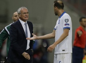 Confusion reigned during Ranieri's spell in charge of Greece  (Image from Getty)