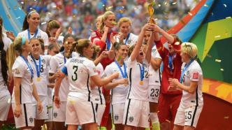 USA lift the World Cup after an impressive final (Image from Getty)