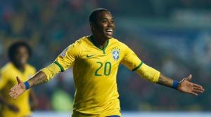 Robinho has agreed a move to China  (Image from REUTERS/Mariana Bazo)