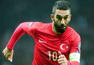 Captain Arda Turan is widely respected across his home land (Image from AFP)