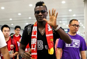 Gyan flies in to China ahead of his move  (Image from Getty)