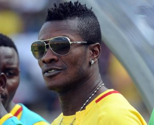 Is it all about the money for Gyan?  (Image from Sydney Mahlangu/Backpagepix)