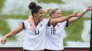 Celia Sasic (13) had a fantastic World Cup  (Image from PA)