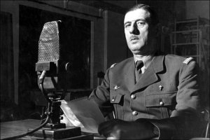 French leader Charles De Gaulle  (Image from BBC)
