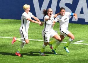 Captain Carli Lloyd is one of several experienced players in the US side  (Image from Getty)