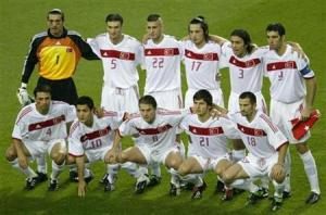 Turkey finished 3rd at the 2002 World Cup  (Image from REUTERS/Jason Reed)