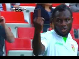 Frimpong reacts to racist chants in Russia  (image from getty)