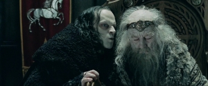 Ward has acted like Grima Wormtongue influencing Sterlings thoughts much like the LOTR's character did with King Theoden  (Image from New Line Cinema)