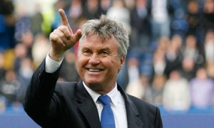 One for the fans - Guus Hiddink  (Image from PA)