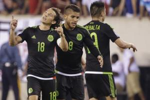 Mexico sealed their place with a controversial win over Panama  (Image from Getty)