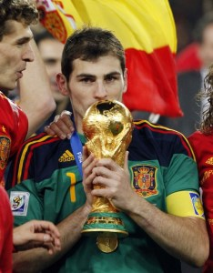Over a 25 year career, Casillas has won it all including the World Cup with Spain  (Image from EFE/Javier Lizón)