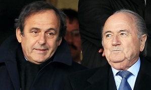 Blatter ignored Platini's original suggestion to resign  (Image from Getty)