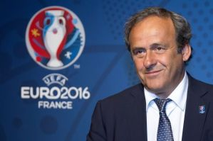 Platini to run for FIFA president (Image from PA)